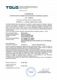 Licencia Baumit open