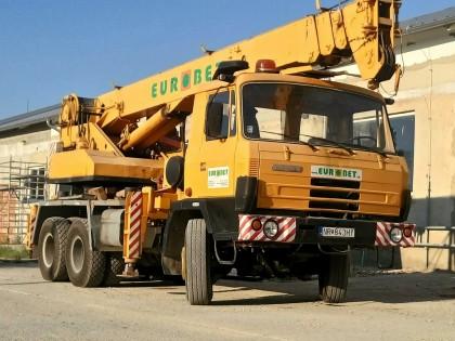 Tatra 815 - AD 20 - zdvih 20 ton
